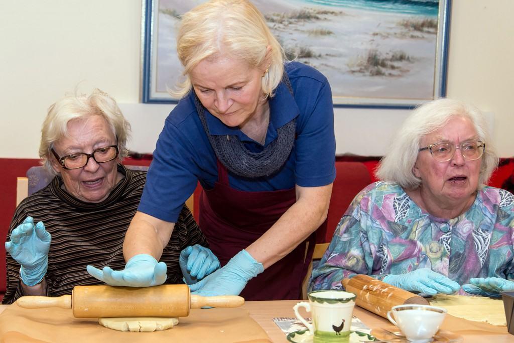 In den Senioren-Wohnparks wird großer Wert auf viele gemeinschaftliche Aktivitäten gelegt.